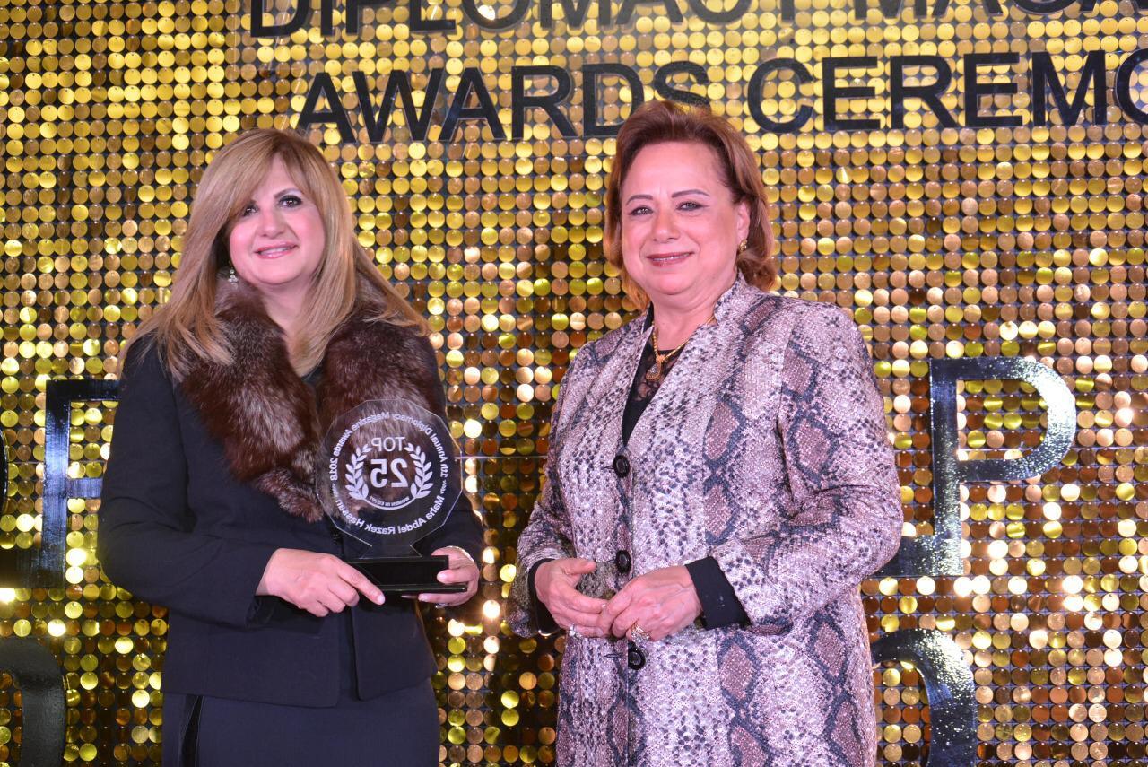 صور| فوز « مها عبد الرازق ومنى الجمال» بقائمة أقوى 25 سيدة تأثيرا اقتصاديا وعلميا في 2018