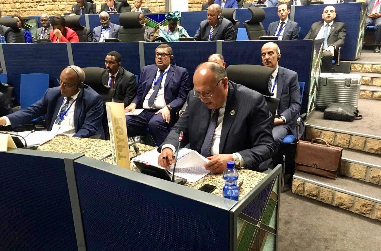 وزير الخارجية يشارك في اجتماع لجنة الاتحاد الإفريقي رفيعة المستوى حول ليبيا