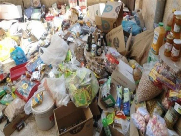 ضبط عدة أطنان سلع ومواد غذائية فاسدة بالإسكندرية