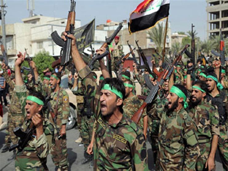 الحشد الشعبى العراقى يحبط هجوما انتحاريا على أحد مقراته الأمنية بديالى