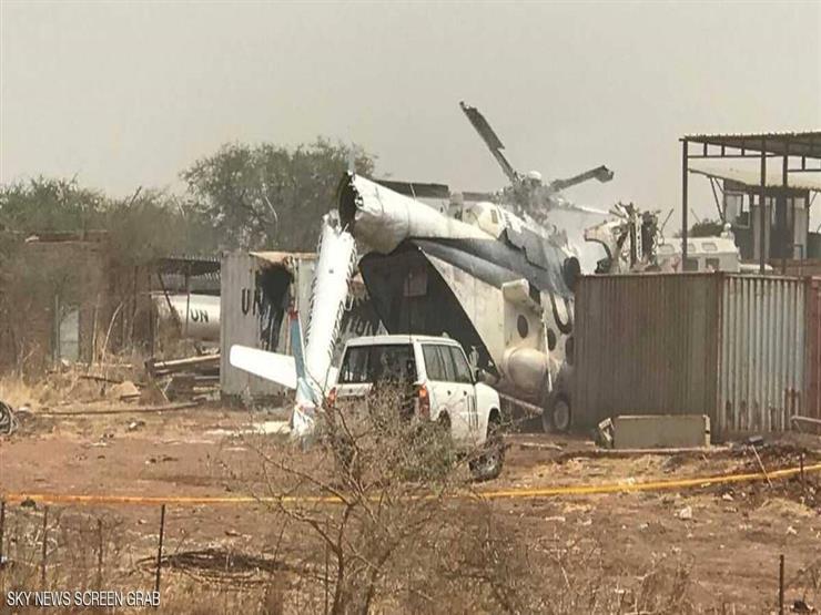 سقوط طائرة عسكرية إثيوبية في جنوب السودان ومقتل وإصابة 6 أشخاص