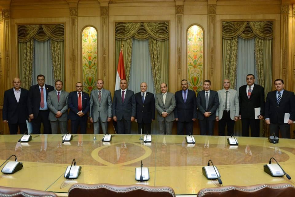صور | وزير الإنتاج الحربي يشهد توقيع بروتوكول تعاون مع نقابة الصحفيين ومؤسسة الأهرام