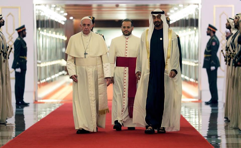 البابا فرنسيس: بفضل الحكمة حولت الإمارات الصحراء إلى مكان مزدهر