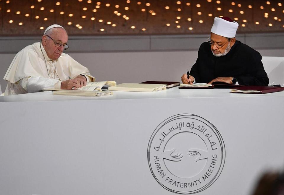 حكماء المسلمين : إجراءات فورية لنشر وتفعيل بنود وثيقة الأخوة الإنسانية