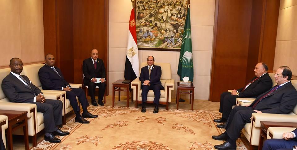 الرئيس السيسي : نقدر التعاون القائم بين مصر والبنك الأفريقي للتصدير والاستيراد