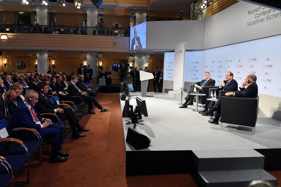 كلمة الرئيس السيسي أمام مؤتمر ميونخ للأمن تتصدر عناوين الصحف المصرية