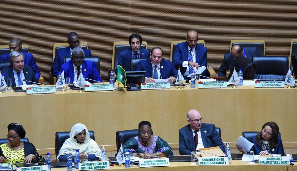 الرئاسة : جلسة الاتحاد الإفريقي المسائية تناولت حالة السلم والأمن في القارة