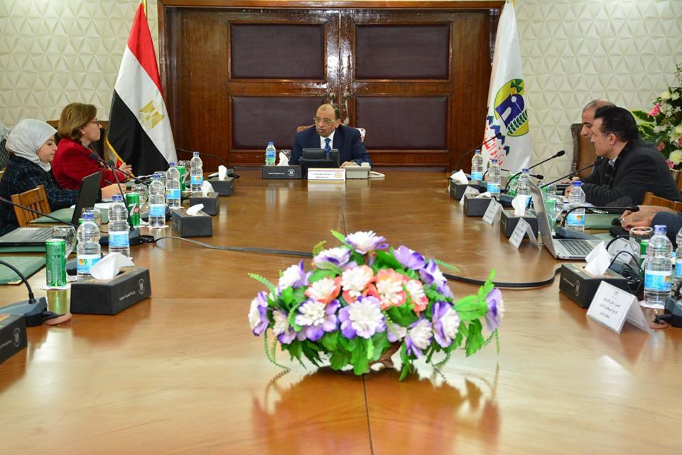 وزير التنمية المحلية يبحث مشروع اللامركزية بالصعيد مع برنامج الأمم المتحدة