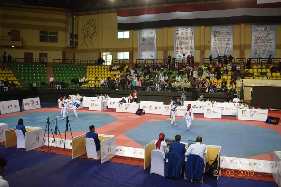 صور   انطلاق فعاليات بطولة مصر الدولية السادسة للتايكوندو في الغردقة