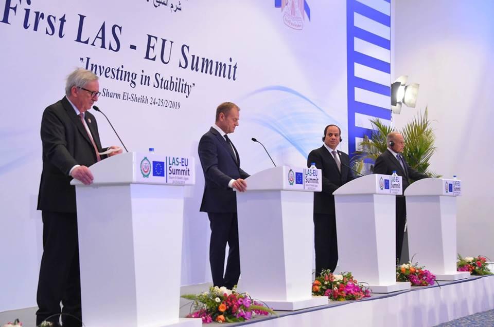شينخوا : القمة العربية الأوروبية بشرم الشيخ تؤسس آلية لتكثيف العمل المشترك