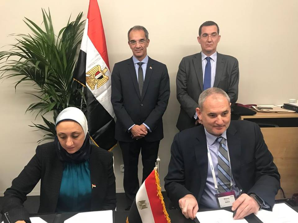 وزير الاتصالات يوقع برتوكول تعاون مع شركة نوكيا لتنمية مهارات الشباب المصري