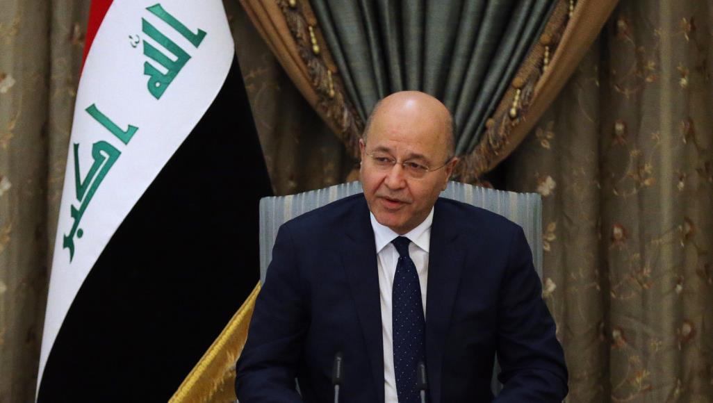 الرئيس العراقى يدعو إلى تصحيح المسارات السياسية لتلبية طموحات العراقيين