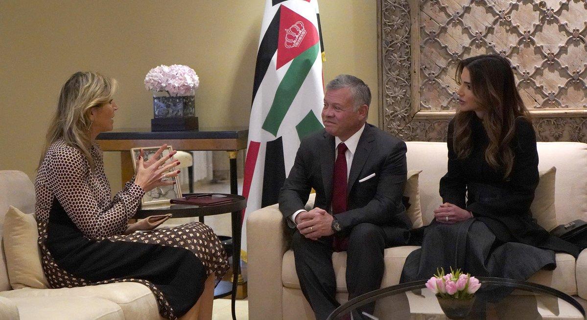 عاهل الأردني يشيد بجهود ملكة هولندا لتحقيق التنمية الشاملة في دول العالم