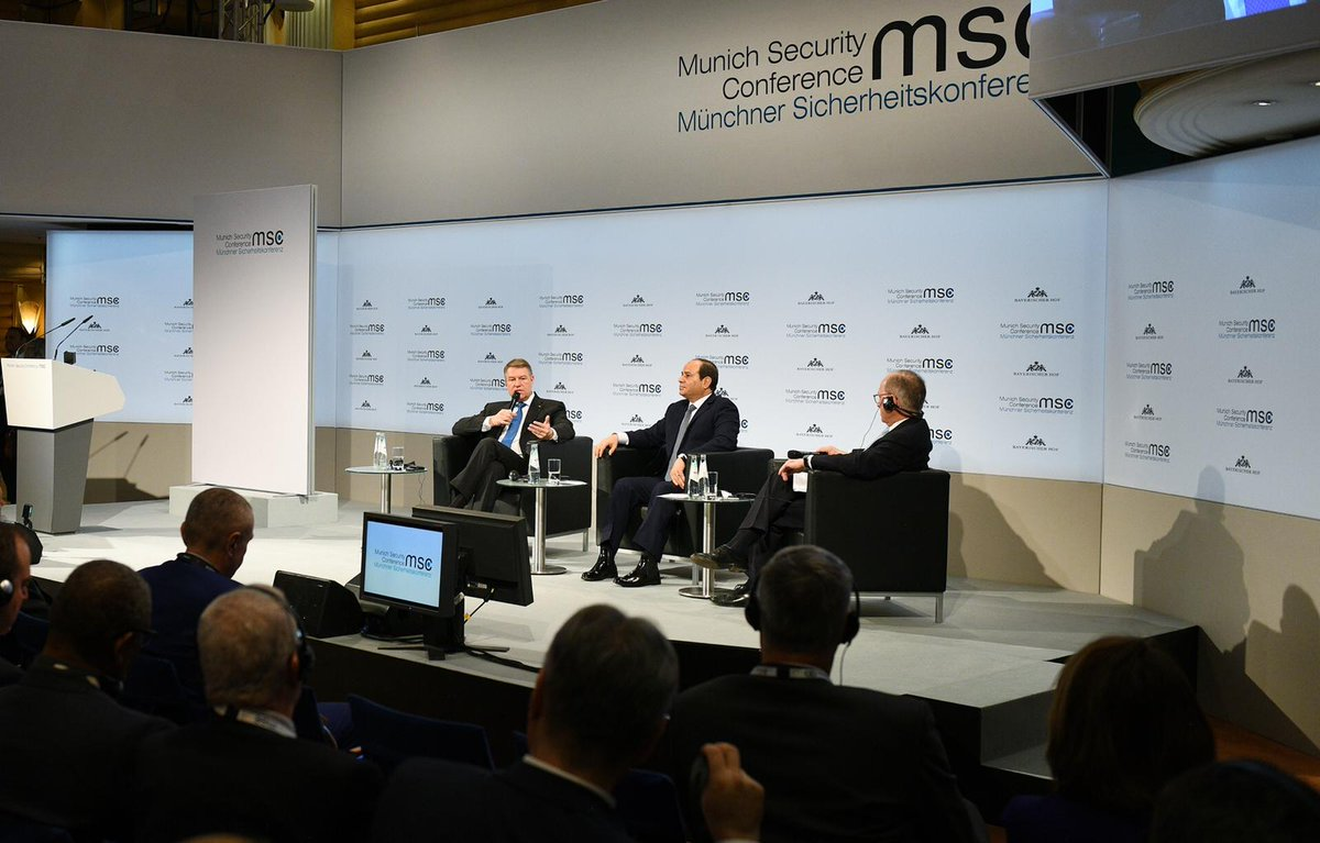 رئيس رومانيا : نقدر جهود السيسي والسلطات المصرية لدعم الأمن في المنطقة