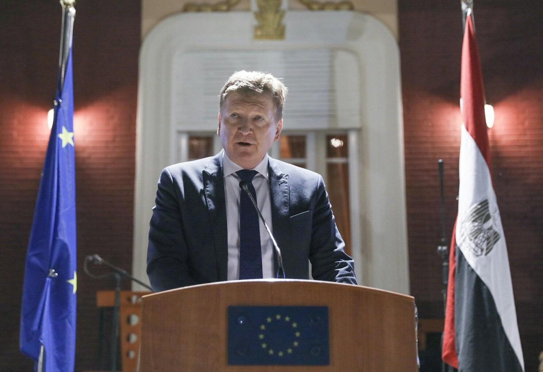 سفير الاتحاد الأوروبي : 24 من زعيم أوروبي يشاركون في قمة شرم الشيخ