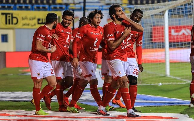 الأهلي يسعى الليلة لحصد لقب الدوري المصري على حساب المقاولون العرب