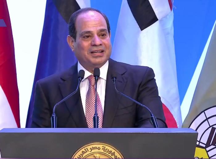 الرئيس السيسي: متمسكون بمسار المفاوضات في سد النهضة