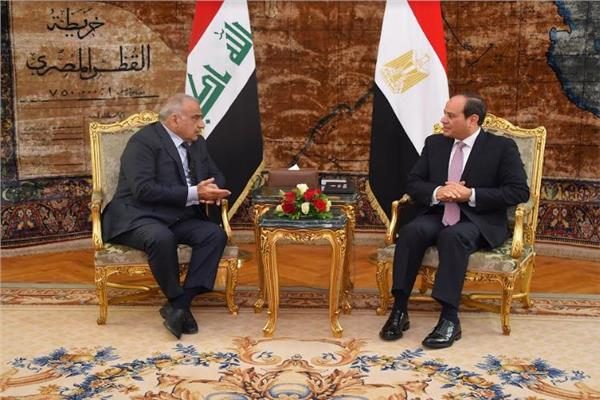 الرئيس السيسي: لمست إرادة سياسية وعزما حقيقيا لاستكمال جهود بناء عراق جديد
