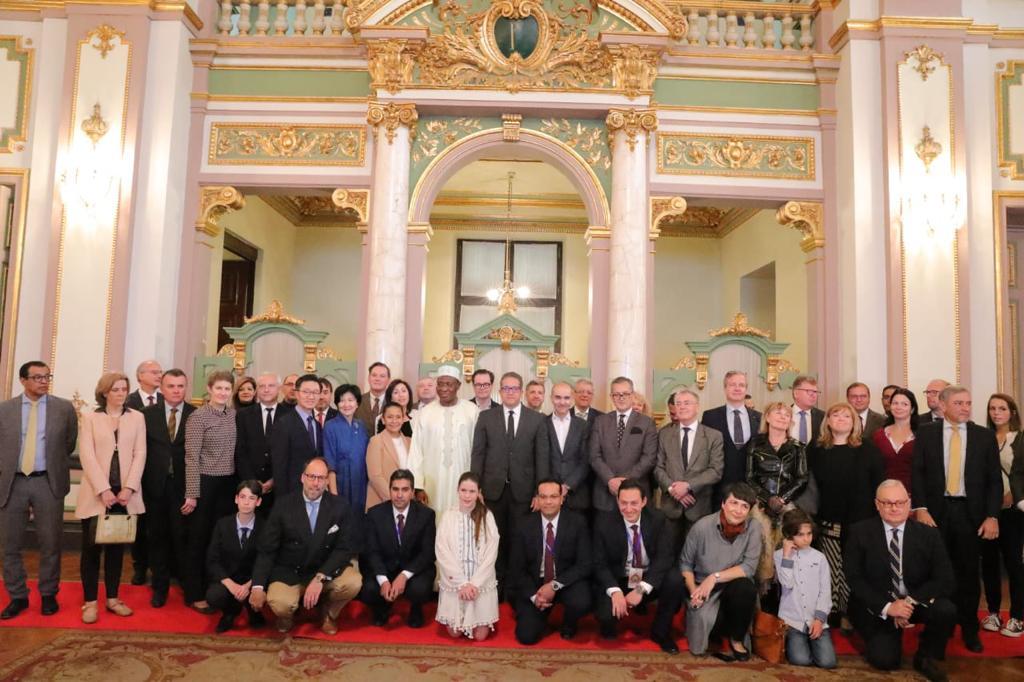 صور| سفراء ٣٠ دولة اجنبية في مصر يزرون قصر عابدين