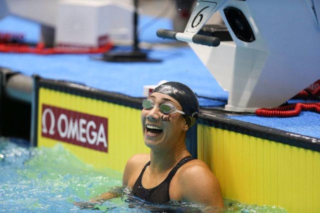 فريدة عثمان تتأهل لنهائي سباق 50 متر فراشة ببطولة آرينا برو سويم