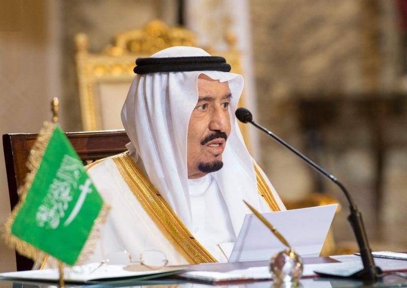 """العاهل السعودي الملك سلمان بن عبد العزيز آل سعود يصدر قرارا بـ """"حظر التجول"""" لمدة 21 يوما"""
