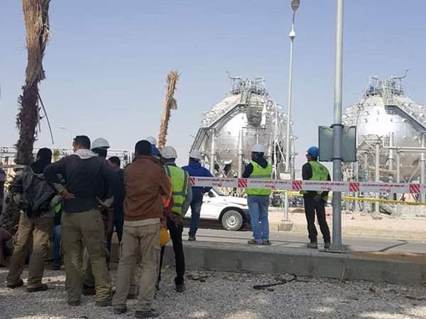 مصرع وإصابة 15 عاملا فى انفجار بأحد خزانات مصنع الأسمدة الفوسفاتية بالعين السخنة