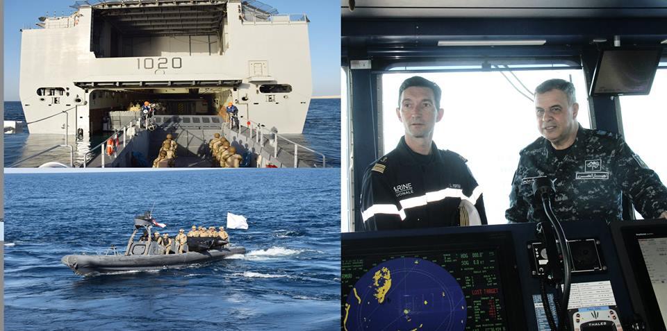 اختتام فعاليات التدريب البحرى «المصرى الفرنسى» بمشاركة الميسترال