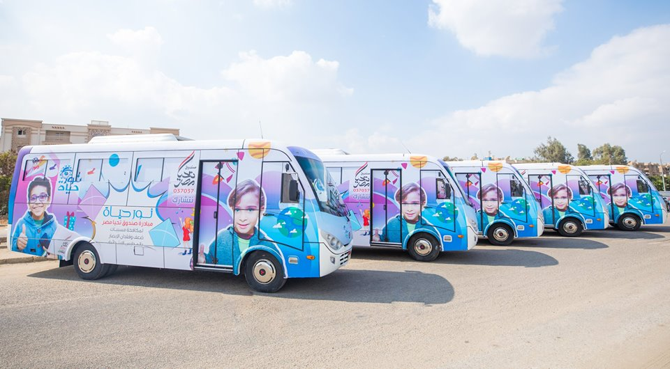 «تحيا مصر» : قافلة «نور حياة» تجرى الكشف على 700 مواطن من مركز ناصر ببني سويف