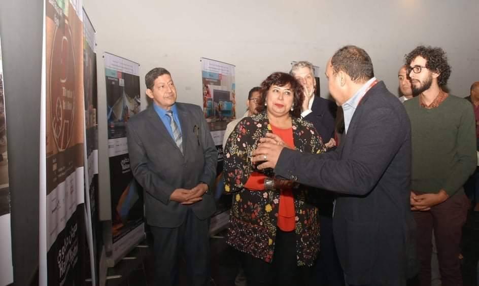 صور   وزيرة الثقافة تفتتح الدورة التاسعة من مهرجان حكاوي لفنون الأطفال بالهناجر
