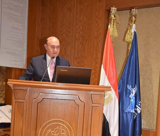 مهاب مميش : نجحنا في توقيع عقود تجاوزت مليار دولار ومستمرون في التطوير