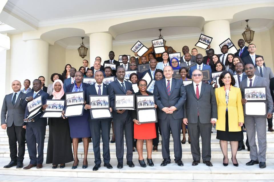 معهد الدراسات الدبلوماسية ينظم دورة تدريبية للدبلوماسيين الأفارقة