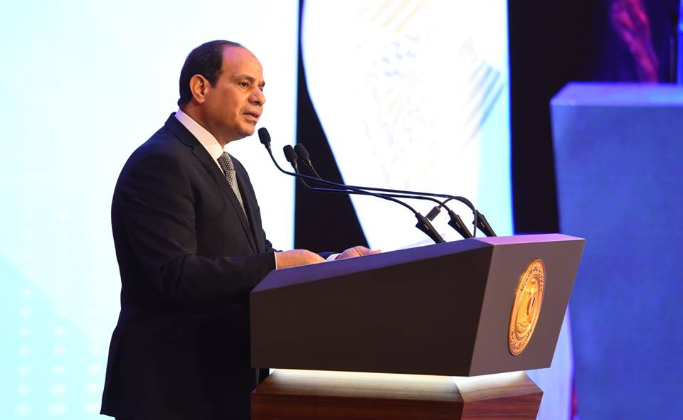 السيسي يعلن الاتفاق مع رئيس وزراء اثيوبيا للقاء في موسكو لحل ازمة سد النهضة