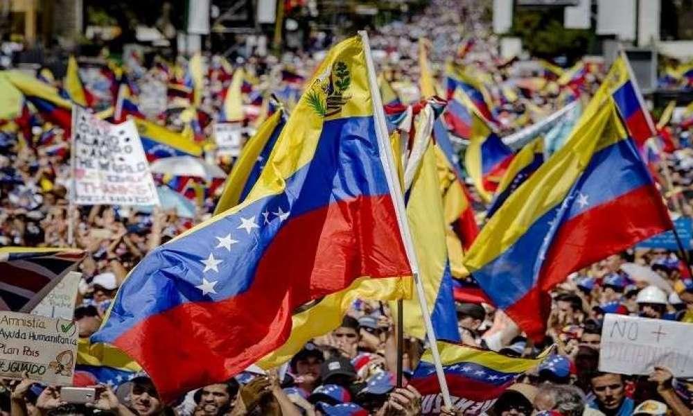 مظاهرات مؤيدة ومعارضة للرئيس الفنزويلي في العاصمة كاراكاس