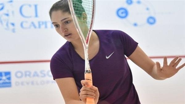 نادين شاهين تتأهل لدور الثمانية في بطولة تكساس المفتوحة للإسكواش