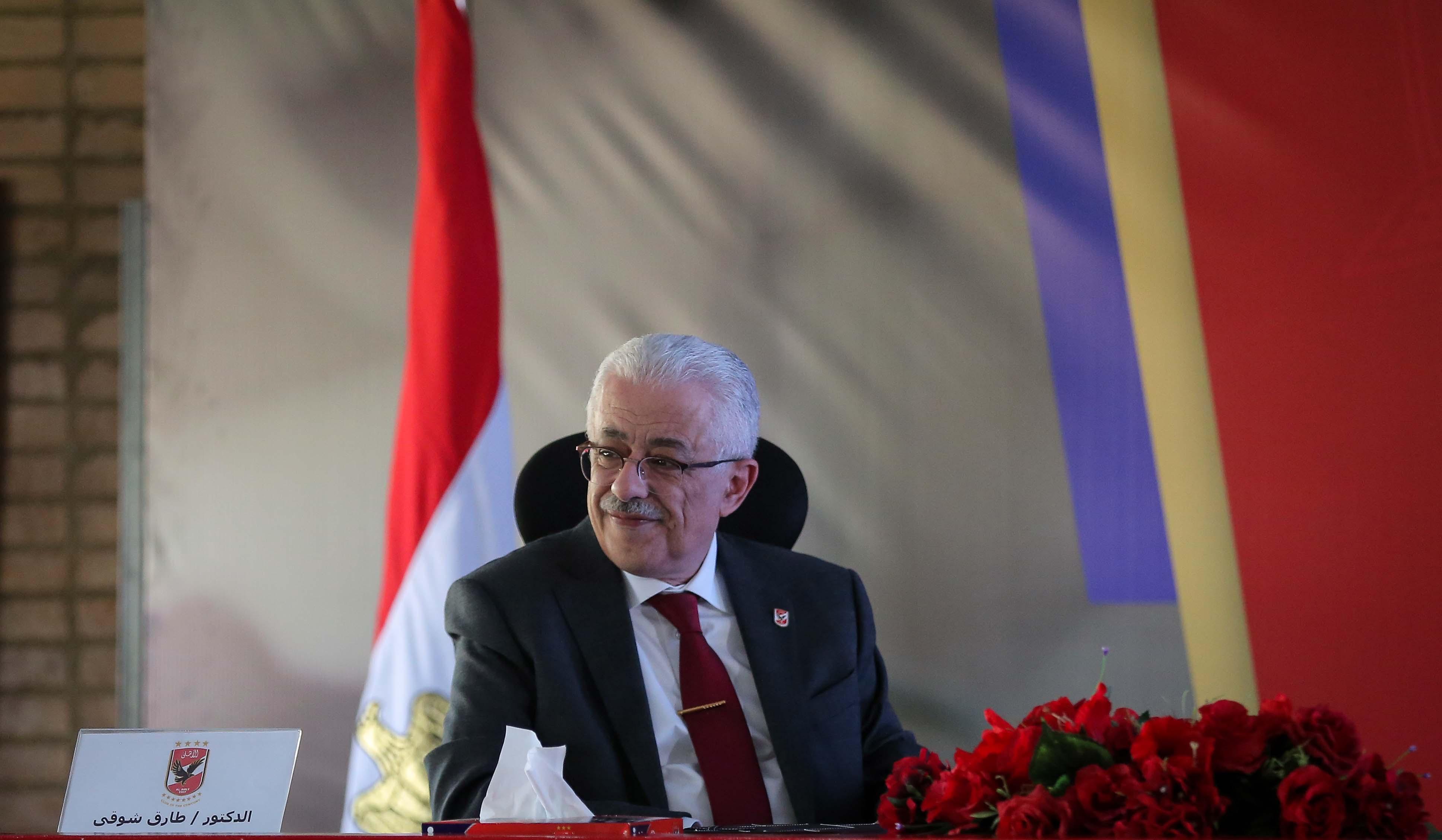 وزير التعليم: الأهلي سبّاق ويمتلك رؤية جيدة في بناء الإنسان المصري