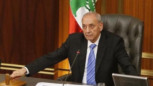 رئيس مجلس النواب اللبناني: قلقون من تأخر ترسيم الحدود البحرية مع إسرائيل