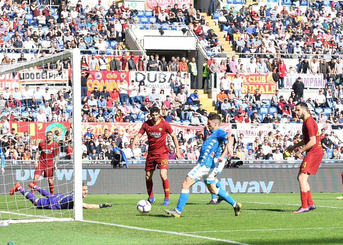 صور | نابولي يفوز على روما برباعية فيالدوري الإيطالي