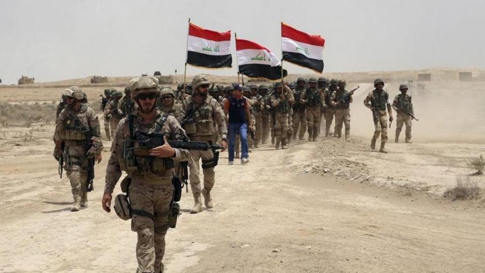 القوات العراقية تفكك عبوة ناسفة قرب مجمع سكني في تكريت