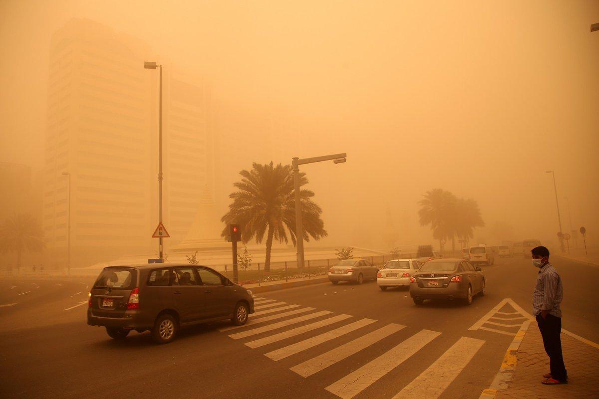 انخفاض جديد بدرجات الحرارة الاثنين.. وأمطار وأتربة في القاهرة