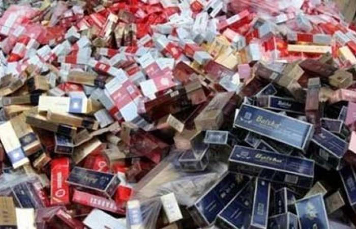 «شرطة التموين»:ضبط 3987 عبوة سجائر قبل بيعها في السوق السوداء