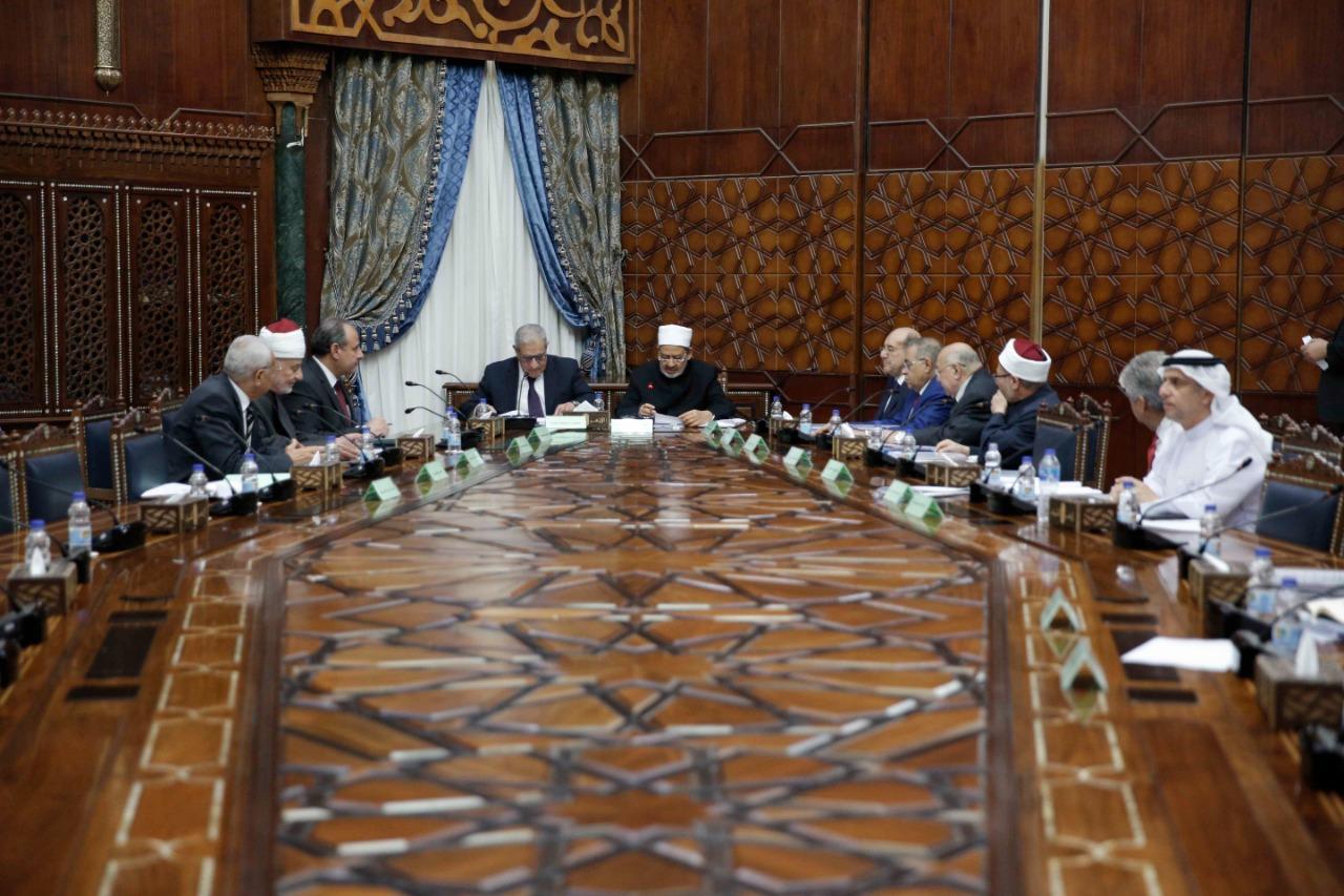 شيخ الأزهر يترأس اجتماع مجلس أمناء بيت الزكاة بتشكيله الجديد