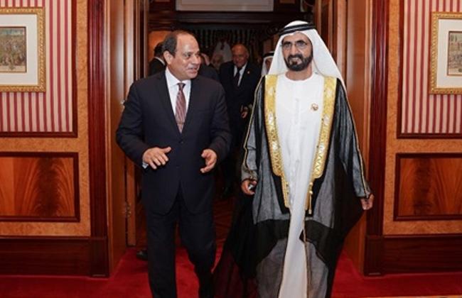 الرئيس السيسي يستقبل محمد بن راشد آل مكتوم في مقر إقامته بـ بكين