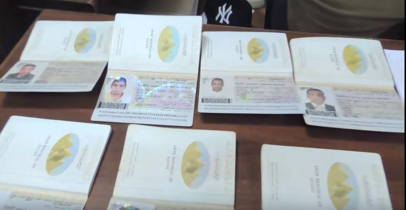 فيديو | ضبط تشكيل عصابي تخصص في تسفير الشباب بتأشيرات مزورة