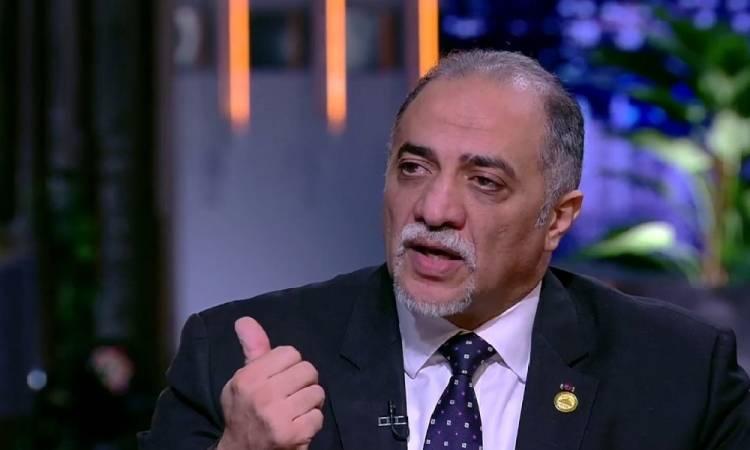 القصبى: الشعب المصري أثبت أنه صمام الأمان ضد المخاطر الداخلية والخارجية