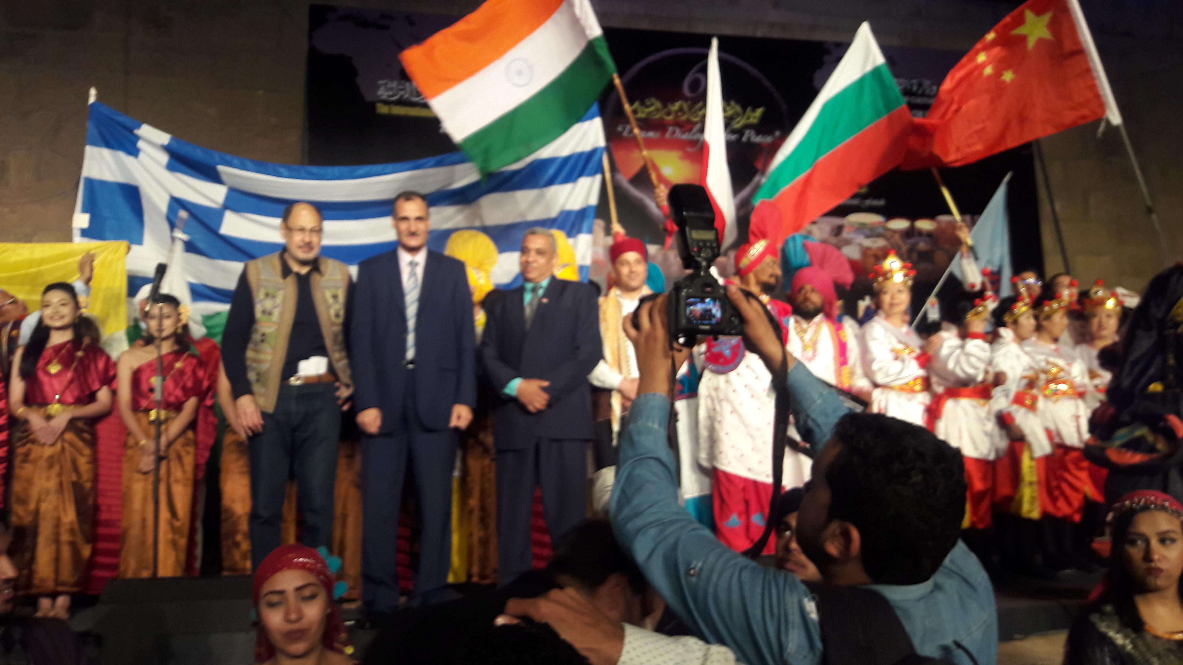 الهند تشارك في  الدورة السابعة للمهرجان الدولي للطبول والفنون التراثية