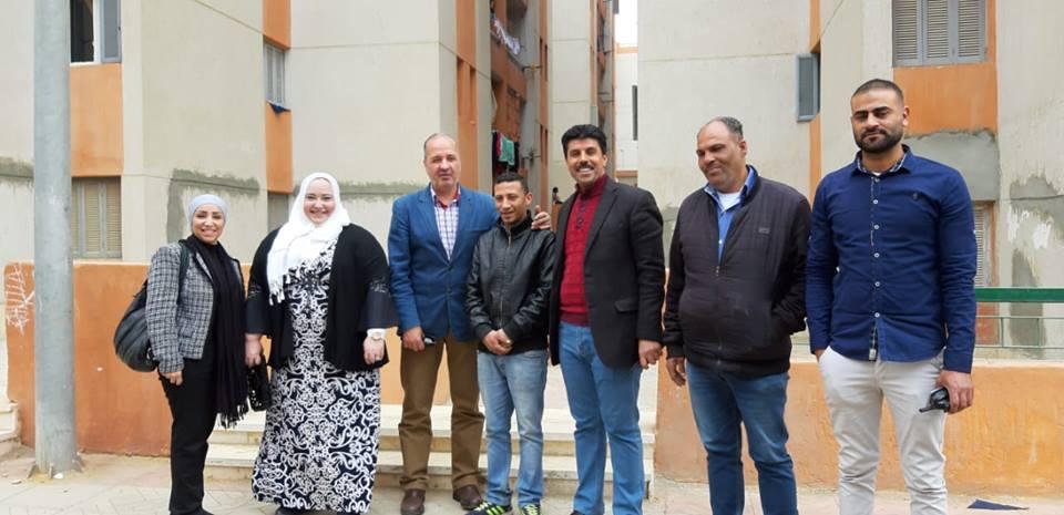 صور | خبيرة مصرية بكندا تزور حي الأسمرات بالتنسيق بين وزارتي الهجرة والإسكان