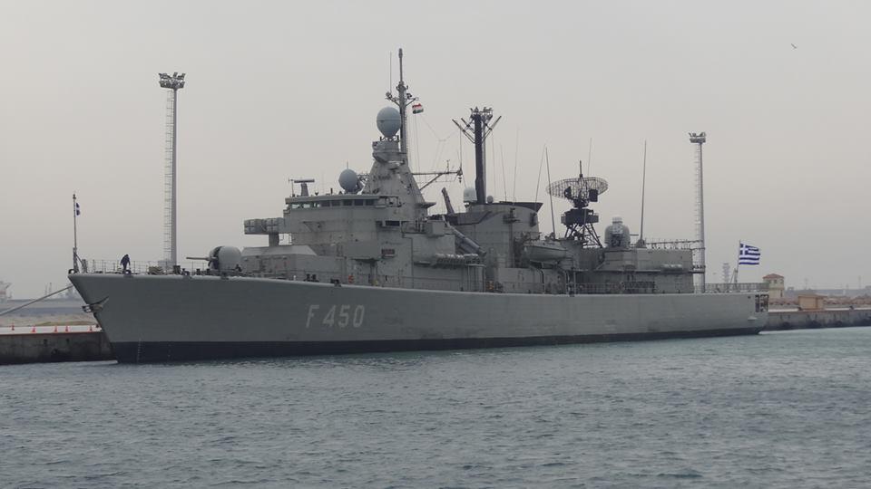 """إنطلاق التدريب البحرى الجوى """"ميدوزا 8"""" بمشاركة مصر واليونان وقبرص"""