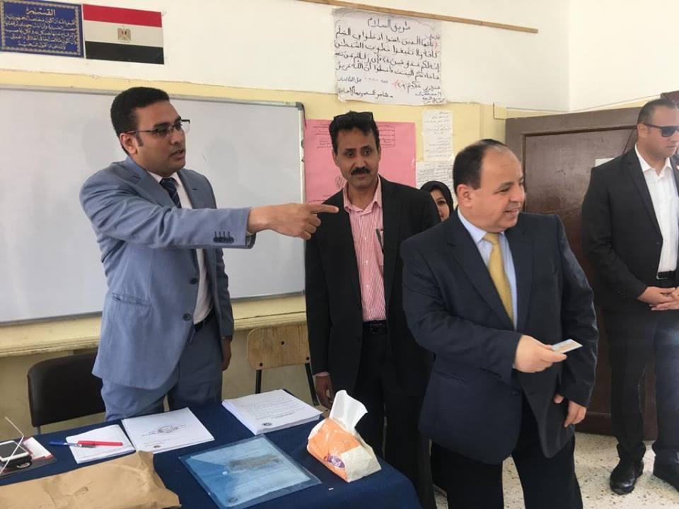«معيط» : المشاركة بالاستفتاء رسالة للعالم بحرص المصريين على استكمال مسيرة البناء