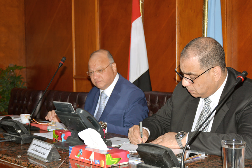 صور   محافظ القاهرة يتابع سير الاستفتاء على التعديلات الدستورية من غرفة عمليات