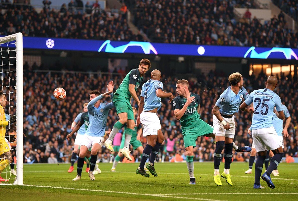صور | توتنهام يصعق السيتي ليتأهل إلى نصف نهائي دوري أبطال أوروبا في مباراة مثيرة